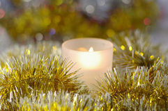 New-year candle Royalty Free Stock Photography