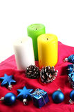 New year candles Royalty Free Stock Photos