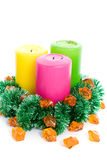 New year candles Stock Images