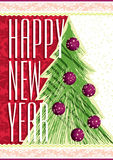 New Year card Royalty Free Stock Photos