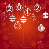 New Year card. Royalty Free Stock Images