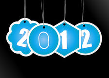 New year card. Royalty Free Stock Photos