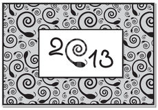 New year card Stock Photos