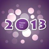 New Year Card Stock Photo