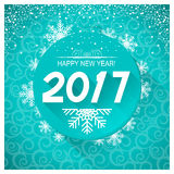 New Year card background.Vector illustration Stock Photos