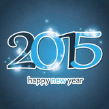 New Year Card - 2015 Royalty Free Stock Photography