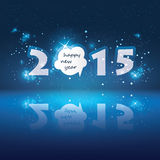 New Year Card - 2015 Stock Photos