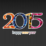New Year Card - 2015 Stock Photo