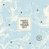 New year card Royalty Free Stock Photos