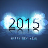 New Year Card, Cover or Background Template - 2015 Stock Photo
