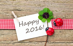 New year card Royalty Free Stock Photography