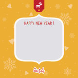New Year Card3 Royalty Free Stock Photo