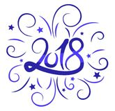 New Year card. Stock Images