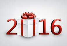 2016 New Year card Royalty Free Stock Photos