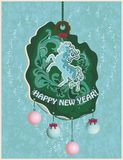New Year Card Royalty Free Stock Photo