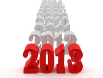 New 2013 year Stock Photo