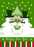 New year card Stock Photo
