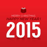 2015 New Year Card Royalty Free Stock Photo
