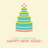 2015 New Year Card Stock Images