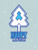 New year card Stock Images