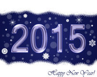 New Year cards 2015. Stock Images