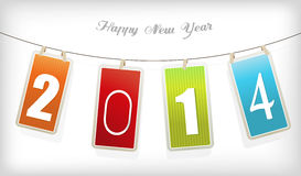 New year cards. Vector Royalty Free Stock Images