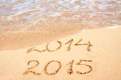 New Year 2015 . Royalty Free Stock Photos