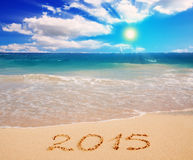 New Year 2015 . Royalty Free Stock Photo