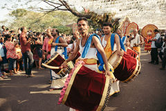 New Year carnival  in Fort Kochi Royalty Free Stock Photo