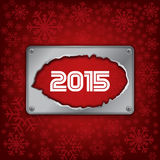 2015 new year celebrate card Royalty Free Stock Photo
