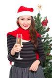 New Year celebrating stock image