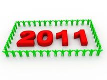 New Year Celebration. On white background Stock Photography