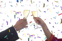 New Year celebration Royalty Free Stock Image