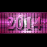 New Year 2014 Stock Photography