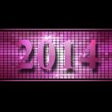 New Year 2014. Celebration of New Year 2014 Stock Photography