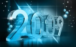 New-year celebration Royalty Free Stock Image