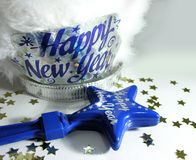 New Year Celebration Accessories stock photo