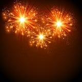New Year 2016 celebration background Stock Image