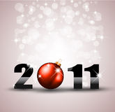 New Year Celebration Background with Glitters Royalty Free Stock Images