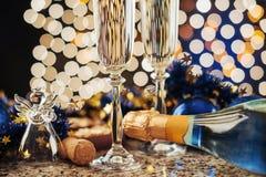 New Year Celebration Stock Photos