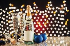 New Year Celebration Stock Images