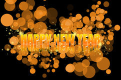 New Year Celebration. Colourful Image of happy New Year Celebration Royalty Free Stock Photo