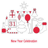 New year celebration concept Royalty Free Stock Image