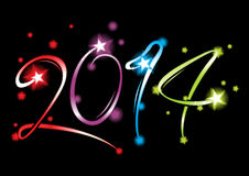 New Year 2014 Stock Photo