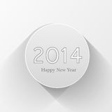 New year 2014 celebration for. Design Stock Image