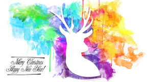 2015-New Year Celebration Design. An abstract illustration on 2015-New Year Celebration Design Stock Photo