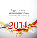 New year for 2014 celebration design illustration.  Stock Images