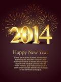 New year celebration. Happy new year celebration design illustration Stock Image