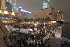 New Year Celebration in Hong Kong 2016 Stock Photography