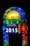 New Year celebration in legoland florida Royalty Free Stock Photo